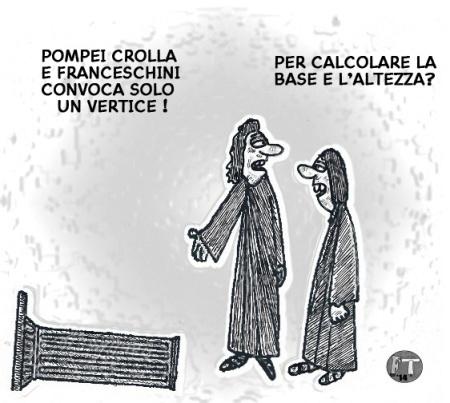 Crolla Pompei