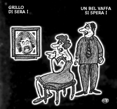 Grillo in TV