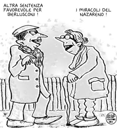 Berlusconi risparmia